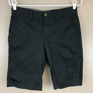 Banana Republic Bermuda Stretch Shorts Black 2